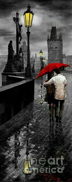 من لايملك الحب .. يخشى الشتاء ..( درويش) ..