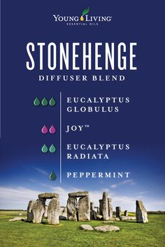 Learn about essential oils and other Young Living Products Essential Oils 101, Essential Oil Diffuser Blends, Young Living Essential Oils, Stonehenge, Eucalyptus Radiata, Young Living Diffuser, Ravintsara, Diffuser Recipes, Living Oils