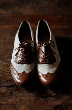 my grandpa had a pair like these but in black on his wedding day, they were his favorite shoes... and I have always wanted to have these ever since I saw my grandparent's wedding pictures when I was little