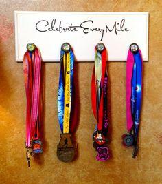 Marathon Half Marathon Running Medal Display by FrameYourEvent