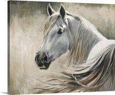 "White Horse featured in Sydney Edmunds' ""Kentucky"" Wall Art via @greatbigcanvas at GreatBIGCanvas.com."