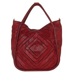 Monserat De Lucca-Benecio bag in red. Tote Handbags, Purses And Handbags, Tote Bags, Shoe Department, Red Bags, Autumn Winter Fashion, Shoe Boots, Lucca, My Style