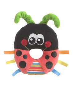 Loving this Ladybird Loop Rattle on #zulily! #zulilyfinds