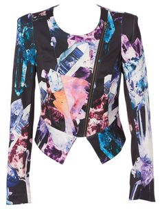 T by Bettina Liano Dark Crystal Jacket