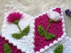 Karanfil lif modeli yapılışı - Canım Anne Easy Knitting Patterns, Bargello, Elsa, Coasters, Blanket, Anne, Mavis, Create, Round Shag Rug