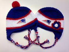 9eb69bda2b9dd Have a New England Patriots fan in your family  This hat is perfect for  chilly games and other winter activities! Each hat features ear flaps and