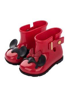 Mini Melissa Girls  Mini Sugar Disney Rainboot 720fceb0aae1