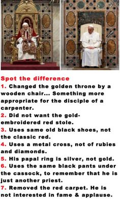 Good guy pope Francis.