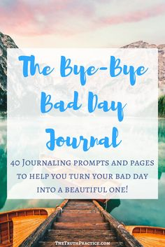 The questions in this journal aim to help you get through those days when you just can't take it anymore. Learn how to get over a bad day, and let the journal questions guide you into the depths of your soul - where you know exactly what you need to get you back to your amazing, high-vibe, authentic self in no time!