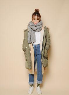 korea daily style #stylenanda #winter #ByunJungHa