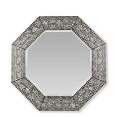 """Cobra Wall Mirror, Octagon 40"""" dia. #williamssonoma"""