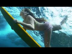 Awesome clip of the #Roxy girls int he #Maldives The Roxy Surf team surfing in the Maldives...gotta love this tune too #DAREYOURSELF