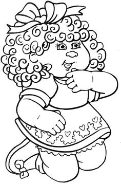 Cabbage Patch Kids Doctor Coloring Page 9  Cabbage Patch Kids
