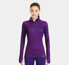 Love This !!! Women's UA Cozy Printed 1/2 Zip | 1239159 | Under Armour US