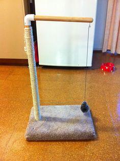 DIY Magnetic Cat Toy