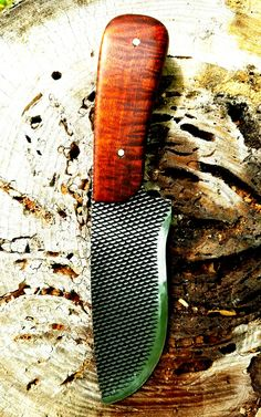 Farriers rasp knife by Alex Campbell