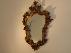 I want to find some more vintage mirrors. I have a large 19th century Italian Giltwood mirror that we're putting in Layla's bedroom...just have to make sure it's suuper secure