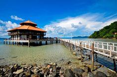 Koh Wai off the south coast of Koh Chang