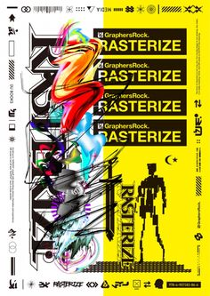 GraphersRock Exhibision 「RASTERIZE」   PARCO GALLERY X   パルコアート.com