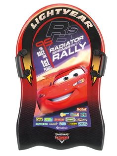 Foam Glider, Disney Pixar Cars, 84 cm - akebrett Disney Pixar Cars, Gliders, Ufo, Snowboard, Racing, Running, Auto Racing