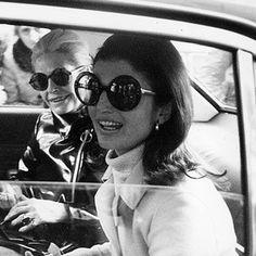 0fbcc62e94 Style Spotlight  Jackie Kennedy. Natalie PortmanJackie O SunglassesRound  SunglassesVintage ...