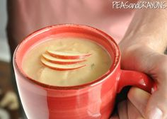Peas and Crayons: Creamy Potato-Apple-Brie Soup Slow Cooker Recipes, Crockpot Recipes, Yummy Recipes, Vegetarian Recipes, Healthy Recipes, Apple Recipes, Potato Recipes, Fall Recipes, Friends