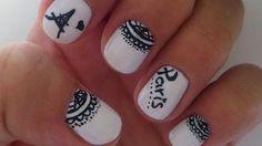 Orchid style: Nails   Uñas Paris // Paris manicure