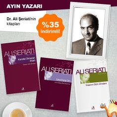 Ayın Yazarı Dr. Ali Şeriati'nin kitapları %35 İndirimli!  Kitapları İnceleyin:   #kitap #kitapyurdu