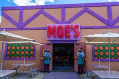 Homer Simpsons' favorite bar has been faithfully recreated at The Simpsons Fast Food Blvd, letting you quench your thirst with Duff beer and Flaming Moes. Read and write reviews!