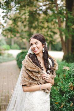 fur wrap | Annabella Charles #wedding