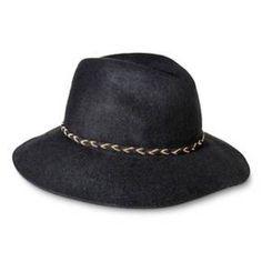 Women s Fedora Hat with Braided Sash and Wide Brim - Black ad421b6c300f