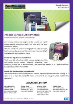 Quicklabel System - Barcode Label Printers - Our barcode printers are designed to be easy to use, rapidly process variable information labels, and come with the latest connectivity options. http://issuu.com/quicklabel/docs/quicklabel_system_-_barcode_label_p