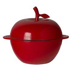 Cool apple pot.