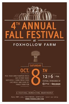 Just one of the Fall Festivals in the Tri-County Area.