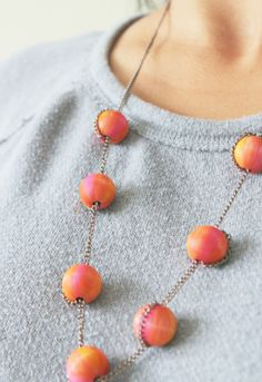 6 Cute Spring Jewelry Projects Using Wooden Beads   Brandywine Jewelry Supply Blog