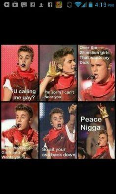 Justin bieber funny.
