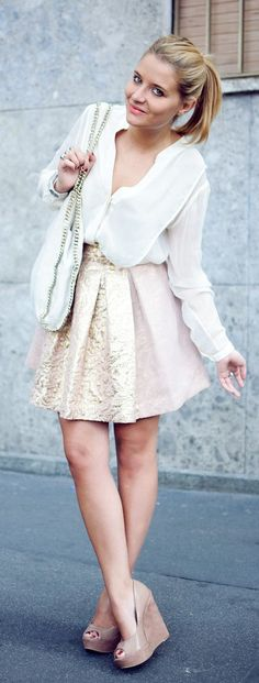 Embellished Skirt Styling                                                                             Source