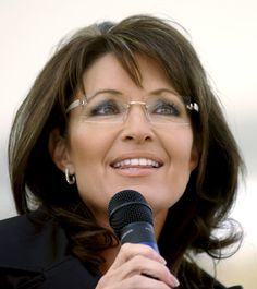 Sarah Palin made women wearing glasses popular practically overnight. Thanks Sarah! Love those glasses!