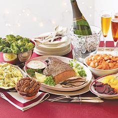 Valentine's Dinner Party Menu from MyRecipes.com