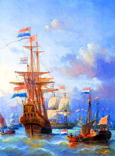 "Check out our internet site for even more relevant information on ""Royal Caribbean ships""xxxx. It is an excellent place to learn more. Ship Paintings, Seascape Paintings, Anglo Dutch Wars, Legend Of The Seas, Royal Caribbean Ships, Dutch East Indies, Dutch Golden Age, Exploration, Nautical Art"