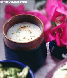 Chaas (A savory, spicy buttermilk drink)