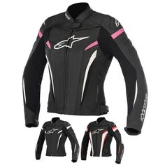Alpinestars Racing Stella GP Plus R v2 Womens Leather Sport Motorcycle Jackets