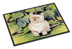 Cat - Burmese Indoor or Outdoor Mat 18x27 Doormat