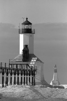Michigan City ,East Pier Lighthouse