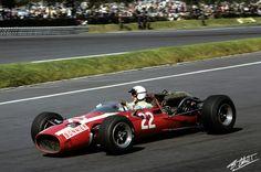 1966 GP. Meksyku (Jo Bonnier) Cooper T81 - Maserati