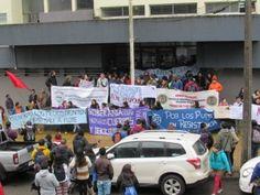 Con incidentes aislados terminó una manifestación en apoyo a Chiloé en Plaza Italia | soychile.cl