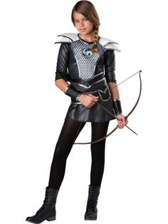 girls midnight huntress costume tween party costumes for girls halloween