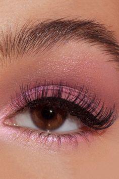 Cute Makeup Looks, Makeup Eye Looks, Eye Makeup Art, Colorful Eye Makeup, Pink Makeup, Colorful Eyeshadow, Makeup Inspo, Eyeshadow Makeup, Makeup Inspiration