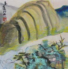 Wenda Gu, Landscape in Colour
