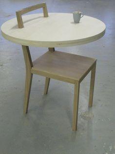 Twitter / cambiummeubels: heeft tafel stoel gemaakt ...